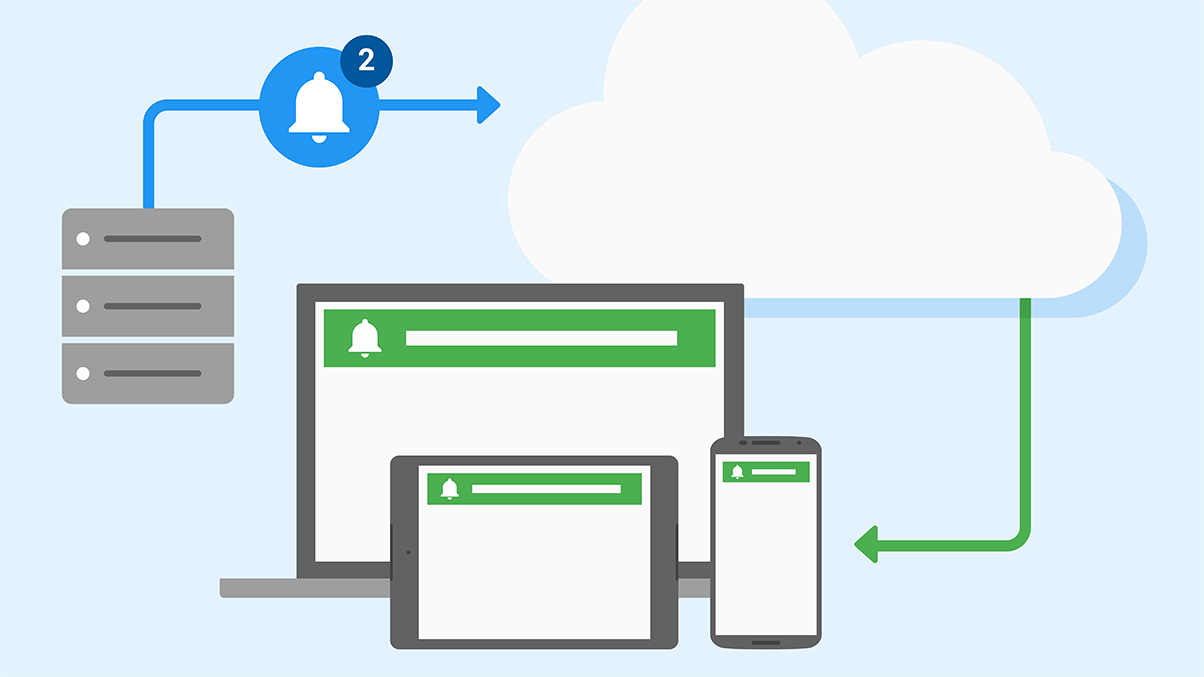 Summary image for Quickstart guide to Google Cloud Messaging for iOS