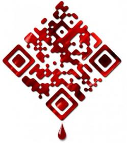 True Blood designer QR code