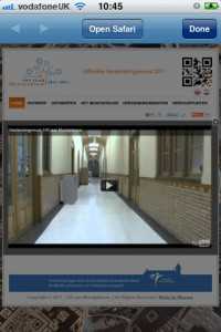 Dutch Mint QR code site initial video