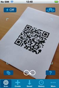 Optiscan 2.0 Scanning screen