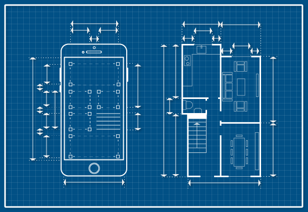 Phone and house comparation