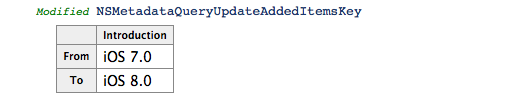 iOS 8 API Diffs