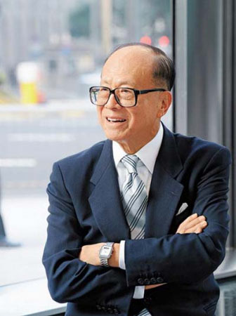 Li Ka-Shing won't be wearing it