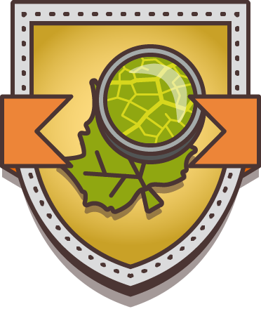 Dendrologist award badge