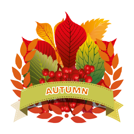Autumn award badge