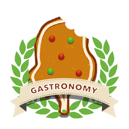 Gastronomy award badge
